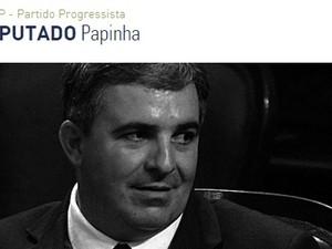 Deputado Papinha, do PP (Foto: Reprodução Alerj)
