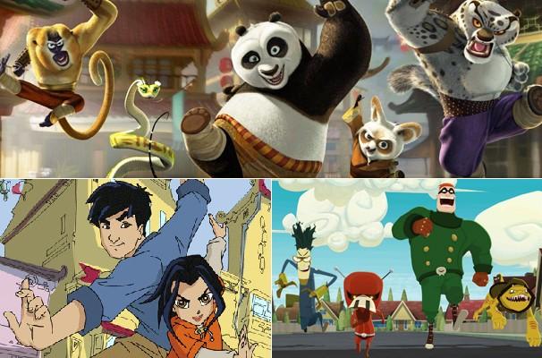 """Na TV Globinho desse sábado: """"Kung Fu Panda"""", """"As Aventuras de Jackie Chan"""", """"Liga dos Supermalvados"""" e muito mais (Foto: Divulgação/Reprodução)"""