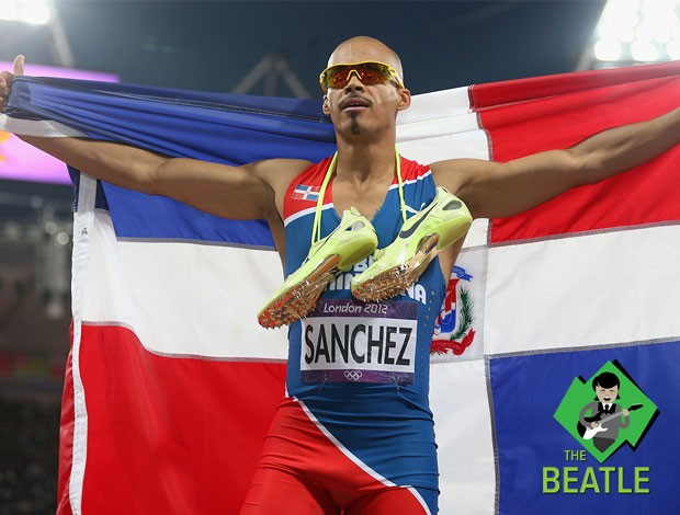 Felix Sanchez, beatle do dia, Atletismo (Foto: Agência Getty Images)