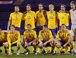 Suéca Seleção 29/02/2012 (Foto: Agência AFP)
