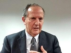 Relator da ONU Juan Méndez concede entrevista coletiva (Foto: Gustavo Garcia/G1)