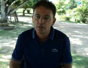 José Cidenei Lobo, prefeito de Humaitá (AM) (Foto: Alessandra Curado/G1)