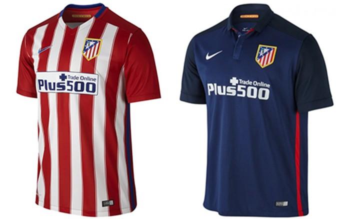 Camisas Champions atletico de madrid