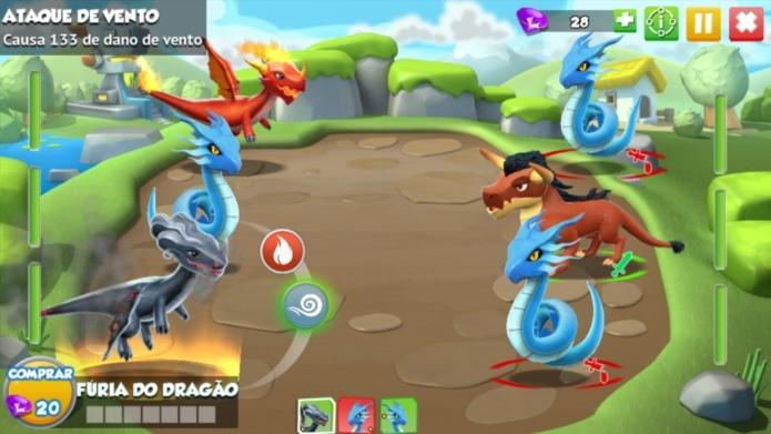 Nova versão de Dragon Mania tem mais fases e novos gráficos (Foto: Divulgação)