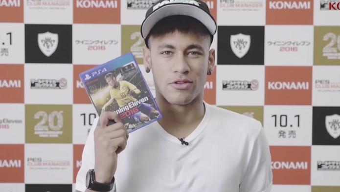 PES 2016 ganha vídeo que mostra rotina de Neymar em Tóquio (Foto: Reprodução/YouTube)