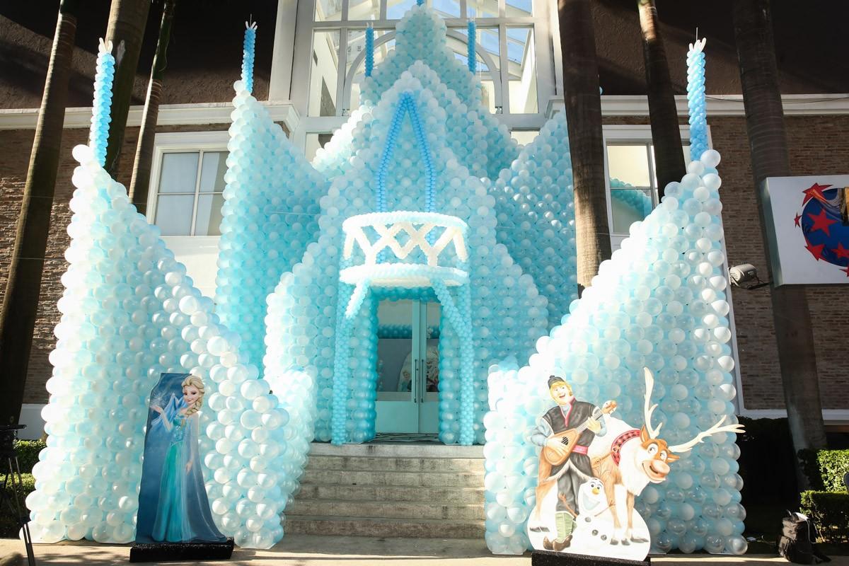 Decoração da festa de aniversáiro de Rafa Justus (Foto: Foto Rio News)