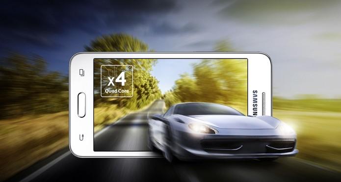 Bateria do Galaxy Core 2 promete durar cerca de 9 horas de conversação (Foto: Divulgação/Samsung)