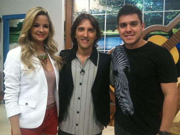 Maria Cecília e Rodolfo participam do Meu MS deste sábado (Foto: TV Morena)