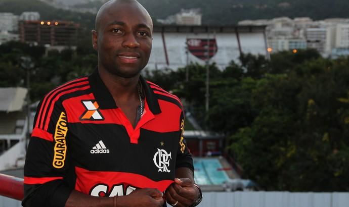Armero, Flamengo, Gávea (Foto: Gilvan de Souza/Fla Imagem)