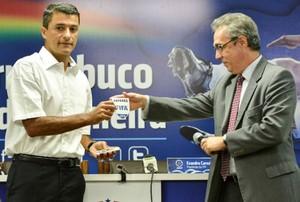 Sandro Meira Ricci (Foto: Federação Pernambucana de Futebol/Divulgação)