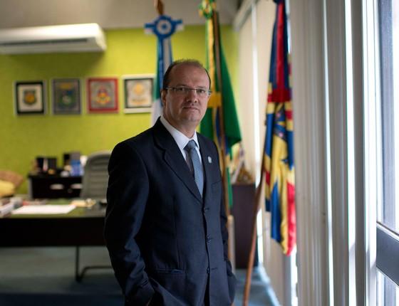 José Carlos Barbosa, secretário de Estado de Justiça e Segurança Pública do MS (Foto: Emiliano Capozoli/ÉPOCA)