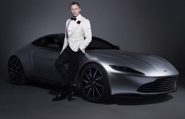 Aston Martin DB10 foi criado para o filme 007 Contra Spectre, em que Daniel Craig interpreta James Bond (Foto: Divulgação)