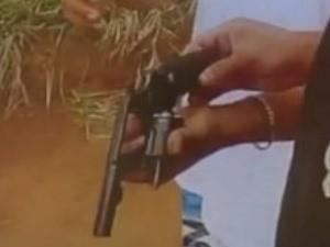 Vídeo mostra execução de jovem em Goiás (Foto: Reprodução/ TV Anhanguera)