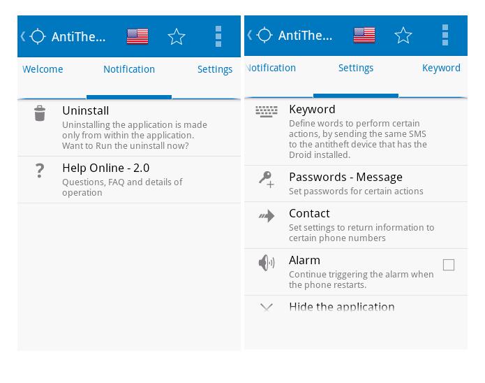 Anti Furto Droid é um aplicativo de segurança para Android (Foto: Divulgação/ Anti Furto Droid)