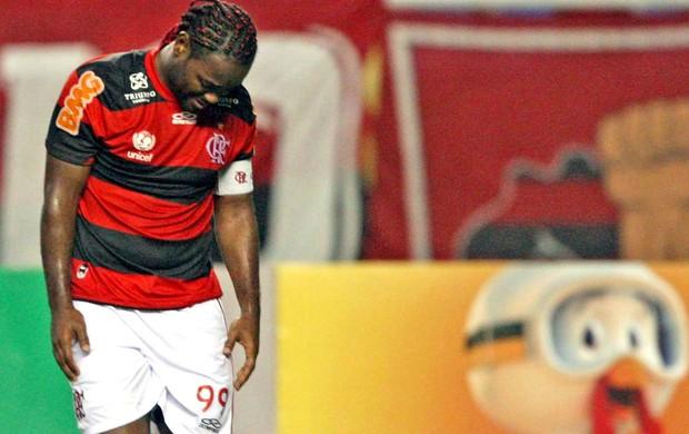 Vagner Love, Flamengo e Cruzeiro (Foto: Marcio Alves / Agência o Globo)