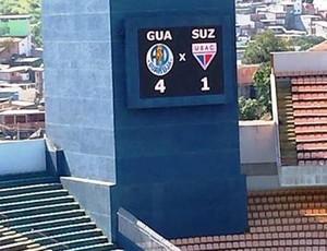 Guarujá x Usac, Arena Barueri (Foto: Divulgação / AD Guarujá)
