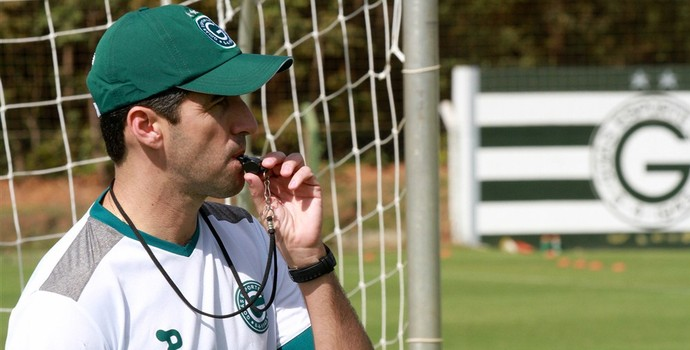 Léo Condé - técnico do Goiás (Foto: Rosiron Rodrigues / Goiás E.C.)