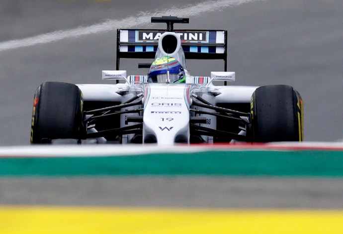 Felipe Massa Williams gp da Áustria (Foto: Agência Reuters)