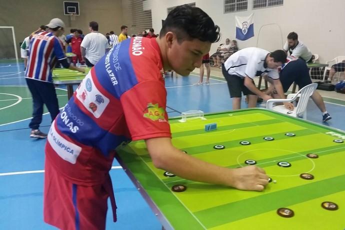 Futebol de Mesa, Manaus (Foto: Divulgação/AMFM)