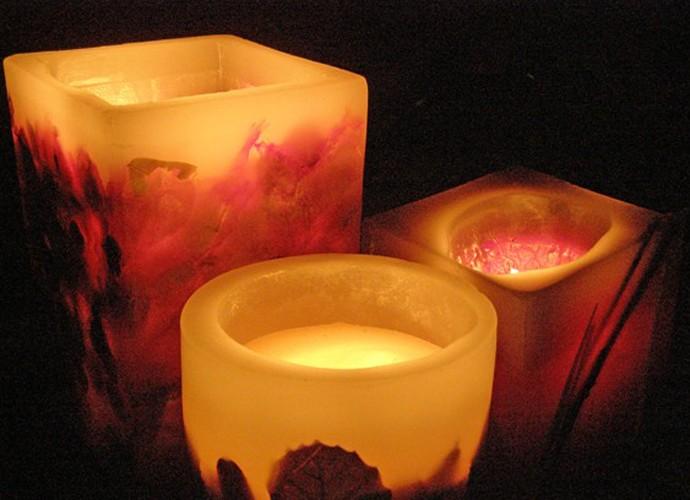 Fa a voc mesmo velas decorativas d o charme casa - Velas decorativas ...