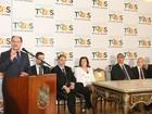 'Vital para sustentabilidade financeira', diz Sartori sobre revisão de contrato
