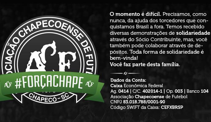 Chapecoense conta (Foto: Reprodução)