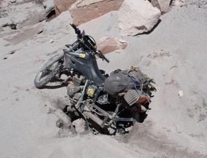 moto Maximo Kausch viagem 30 montanhas 6000m 2 meses (Foto: Maximo Kausch)