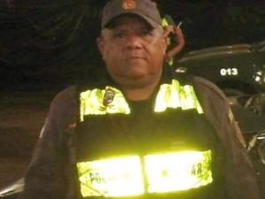 Cabo J. Neto foi assassinado dentro de casa, em Parelhas (Foto: PM/Divulgação)