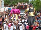 Quase 2 mil PMs atuam no carnaval (Gabriel Penha/G1-AP)