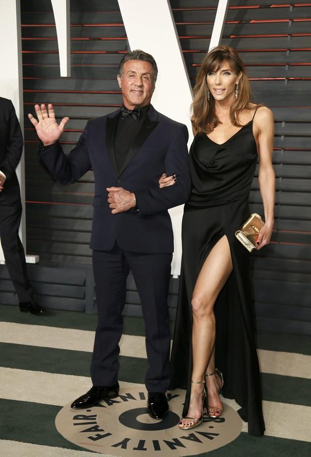 Sylvester Stallone e Jennifer Flavin (Foto: Reuters)