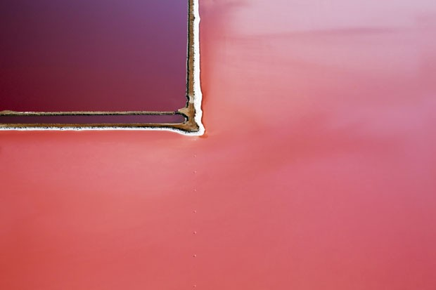 Foto de Steve Back do Lago Hutt, na Austrália (Foto: Steve Back/Divulgação)