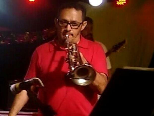 Além de maestro, músico também era trompetista (Foto: Divulgação/ Prefeitura Itapeva)