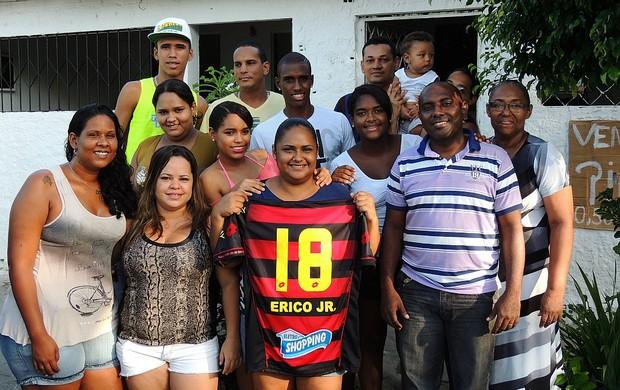 pelezinho érico júnior sport (Foto: Elton de Castro)