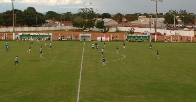 Lance da partida entre Gurupi e Sparta (Foto: Horlan Tavares/Divulgação)