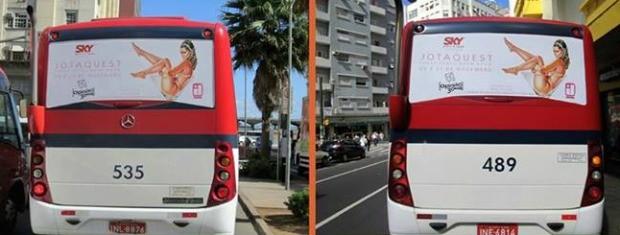 Campanha Jota Quest Porto Alegre (Foto: Sinergy/Reprodução)
