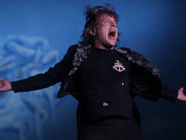 Iron Maiden encerrou o Rock in Rio 2013 (Foto: Wilton Junior/Estadão Conteúdo)
