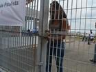 Portões dos locais de provas da 1ª fase do vestibular da Unicamp fecham
