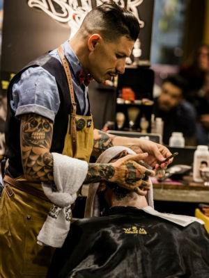 Morales abriu uma das primeiras barbearias modernas de Sorocaba (Foto: Divulgação/Willy Morales)