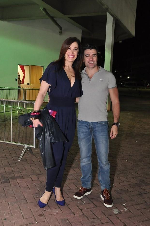 Claudia Raia e Jarbas Homem de Mello (Foto: Roberto Teixeira/EGO)
