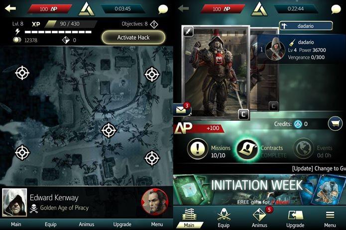 Jogabilidade é centrada em missões e evolução dos personagens (Foto: Reprodução / Dario Coutinho)