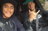Promessa no Barcelona, tocantinense convive com Neymar (Werick Maciel/Arquivo Pessoal)