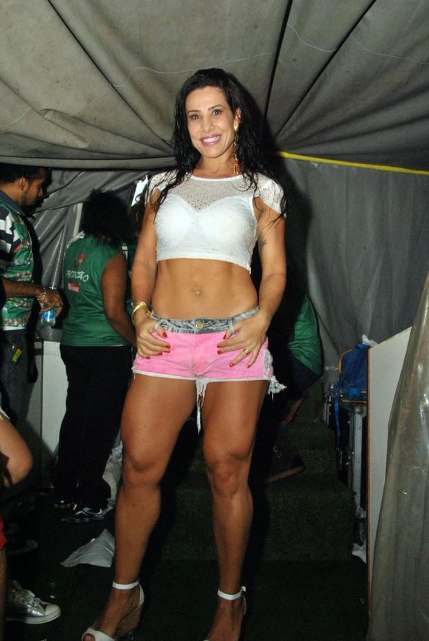 Scheila Carvalho em Salvador (Foto: Marcelo Machado/Ag Haack)