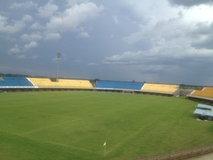 Estádio Nilton Santos (Foto: Vilma Nascimento/GloboEsporte.com)