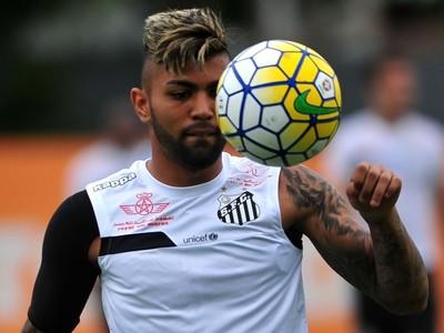 Gabriel, atacante do Santos (Foto: Ivan Storti/Santos FC)