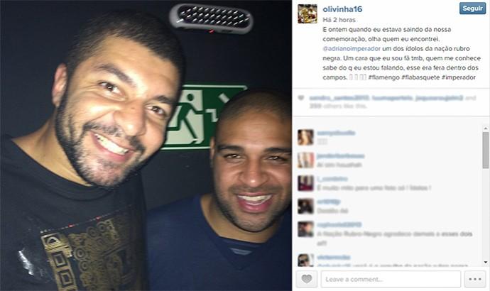 basquete Olivinha Adriano (Foto: Reprodução / Instagram)