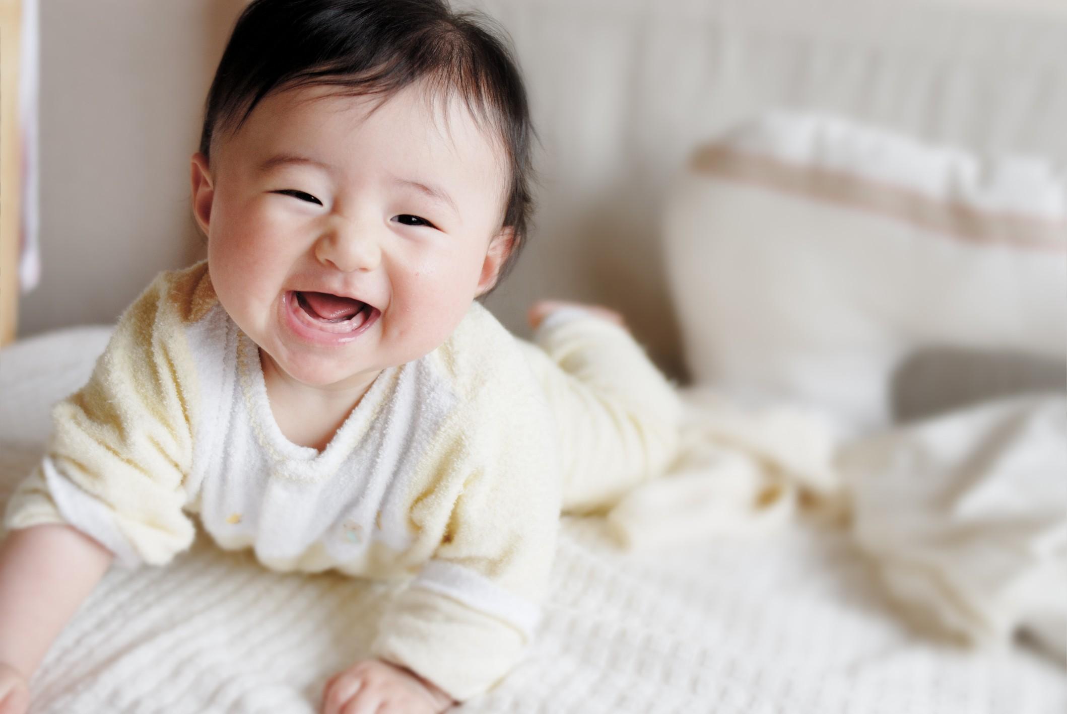 Bebê sorrindo (Foto: Thinkstock)