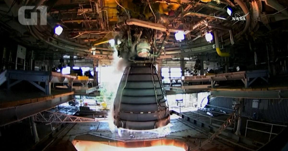 Nasa testa motor que poderá lançar astronautas a Marte; veja vídeo