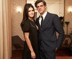 Antonia Morais e Eduardo Moscovis em 'Lúcia McCartney' | Juliana Coutinho