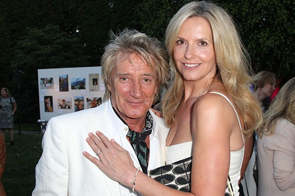 Rod Stewart e Penny Lancaster (Foto: Getty Images)