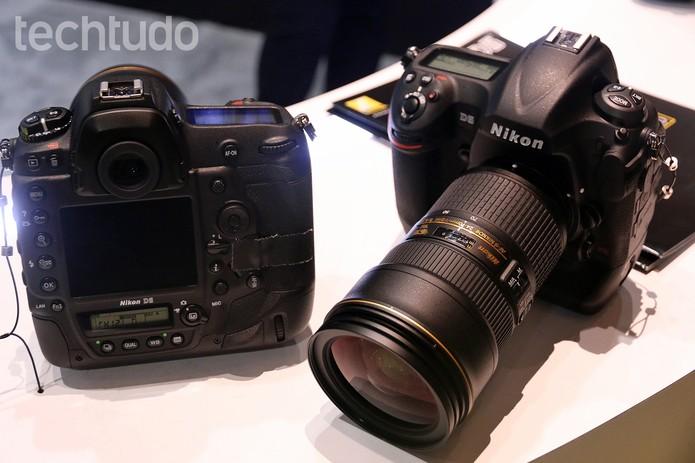 Nikon D5 vem substituir a tradicional D4 (Foto: Thássius Veloso / TechTudo)